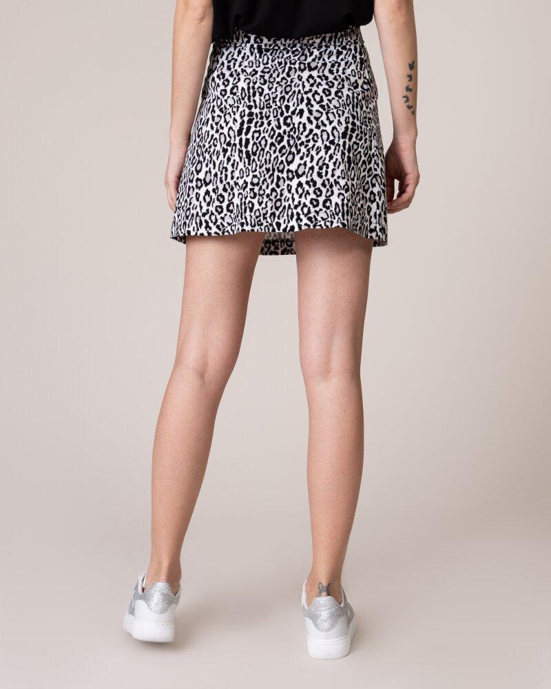 Spódnica Na-Kd 1018-002841_BLACK&WHITE LEO biały - fot:3