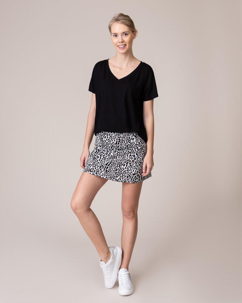 Spódnica Na-Kd 1018-002841_BLACK&WHITE LEO biały - fot:4