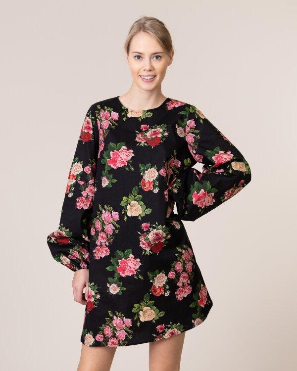 Sukienka Na-Kd 1018-003237_FLOWER PRINT czarny