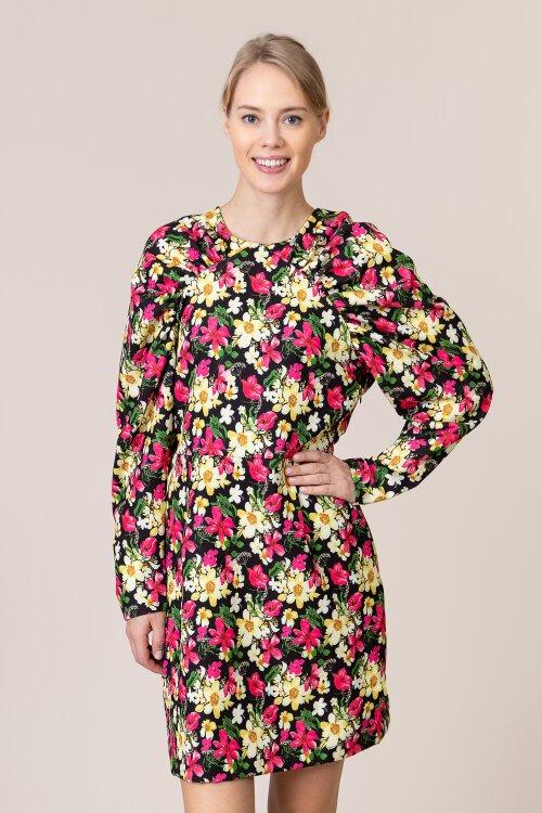 Sukienka Na-Kd 1018-003866_FLORAL wielobarwny