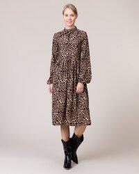 Sukienka Na-Kd 1014-000718_LEOPARD czarny- fot-0
