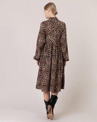Sukienka Na-Kd 1014-000718_LEOPARD czarny- fot-2