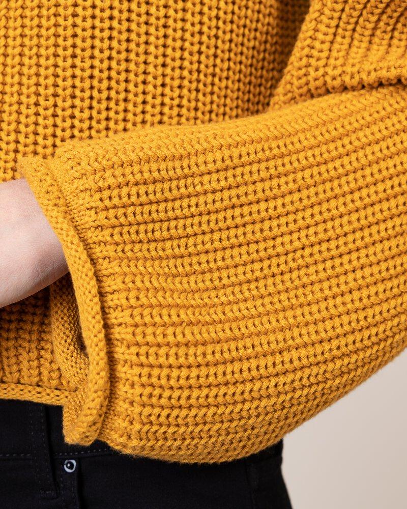 Sweter Na-Kd 1100-001832_MUSTARD żółty - fot:4