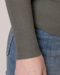 Sweter Na-Kd 1018-001721_KHAKI GREEN moro- fot-3