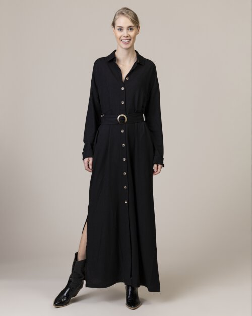 Sukienka Na-Kd 1018-003649_Deep Black Czarny Na-Kd 1018-003649_DEEP BLACK czarny
