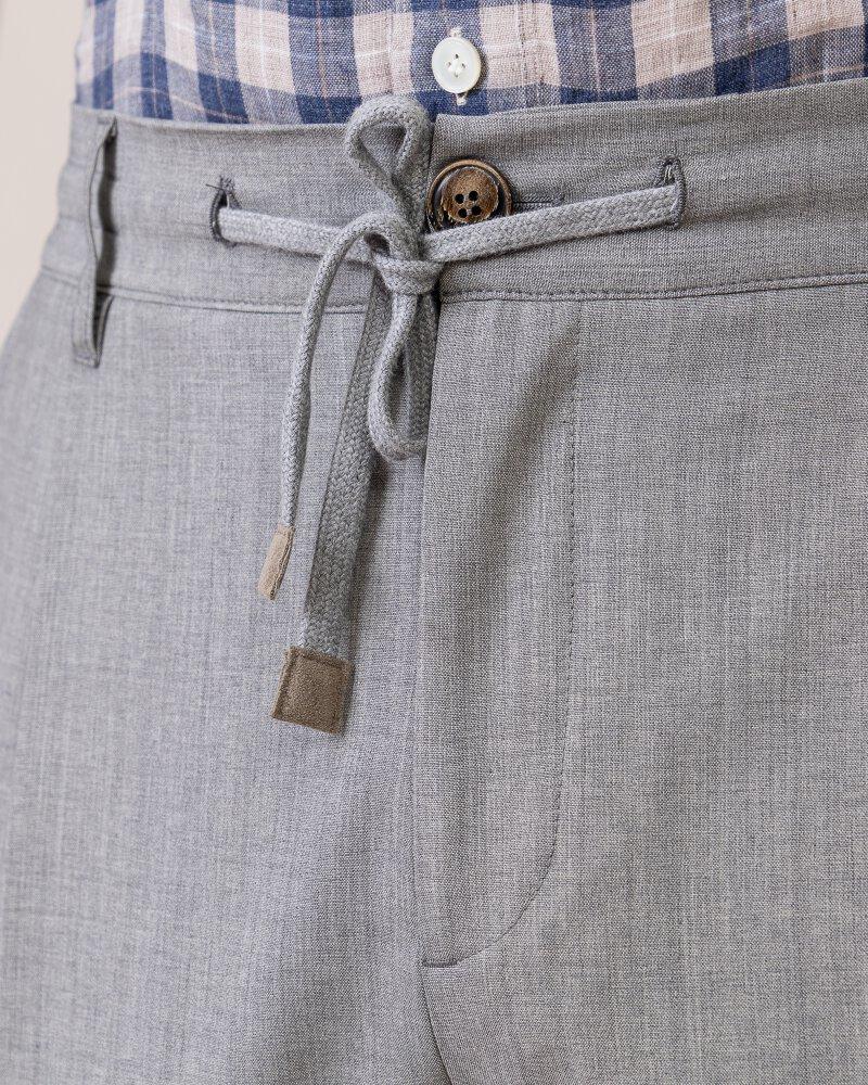 Spodnie Eleventy 979PA0303_PAN25023_13 jasnoszary - fot:2