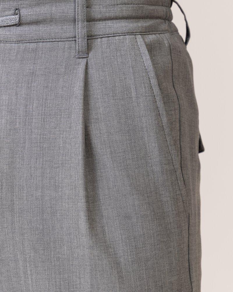 Spodnie Eleventy 979PA0303_PAN25023_13 jasnoszary - fot:4