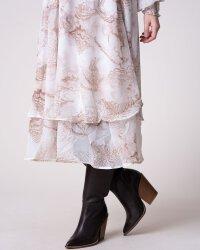 Sukienka Na-Kd 1018-004054_BEIGE PRINT beżowy- fot-5