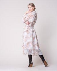 Sukienka Na-Kd 1018-004054_BEIGE PRINT beżowy- fot-6