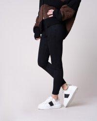 Spodnie Fraternity JZ19_W-TRO-0140_BLACK czarny- fot-0