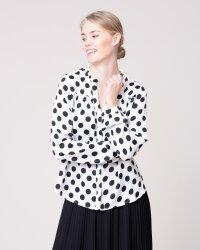 Bluzka Na-Kd 1014-000509_WHITE/BLACK czarny- fot-0
