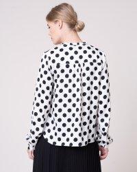 Bluzka Na-Kd 1014-000509_WHITE/BLACK czarny- fot-1