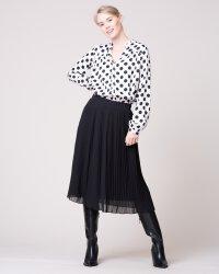 Bluzka Na-Kd 1014-000509_WHITE/BLACK czarny- fot-3