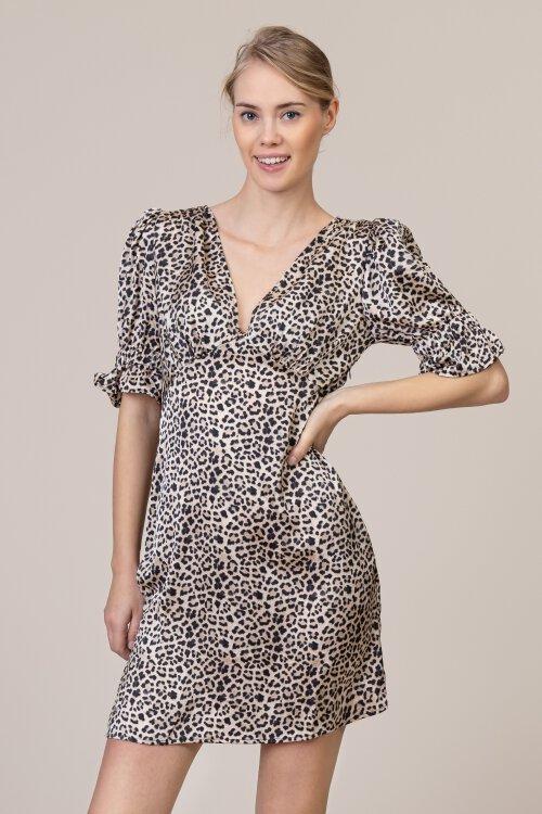 Sukienka Na-Kd 1633-000019_LEOPARD czarny