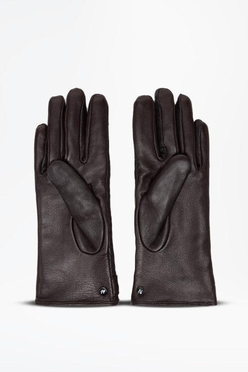Rękawiczki Napo Gloves NAPOELEGANT_BRAZ brązowy