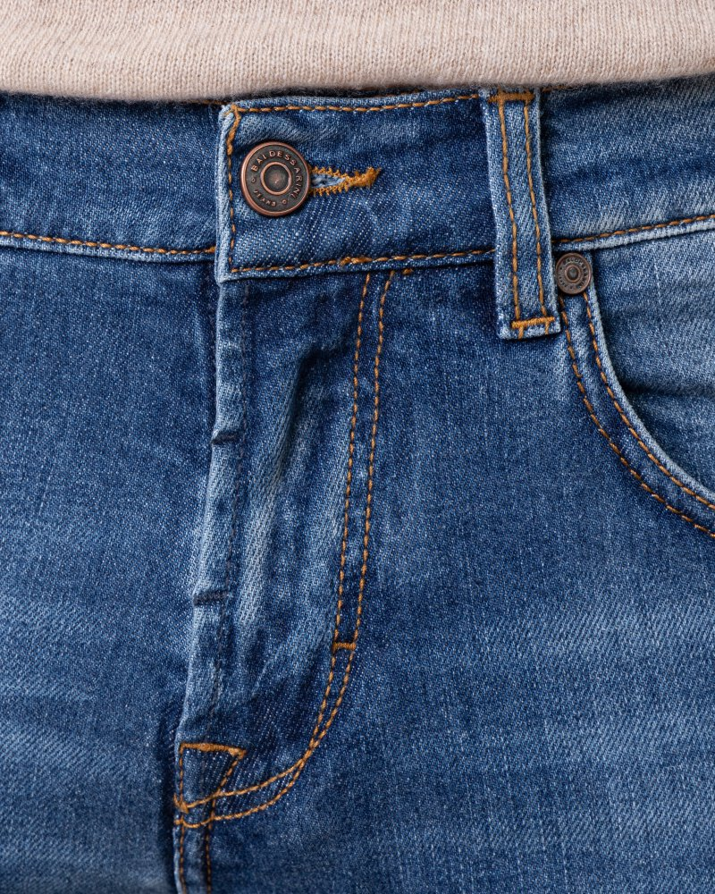 Spodnie Baldessarini 01424_16511_32 niebieski - fot:2