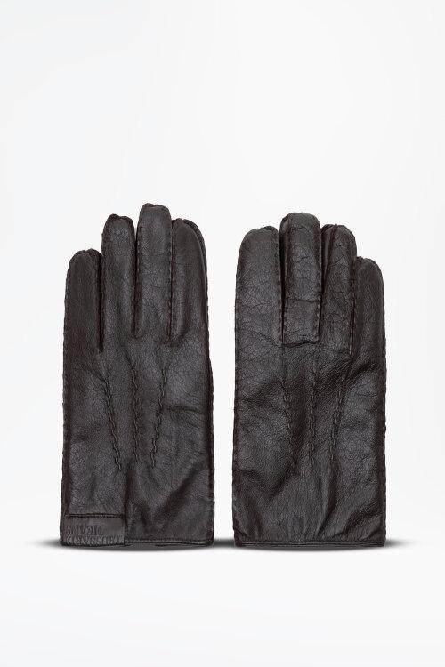 Rękawiczki Trussardi Jeans 57Z00125_9Y099998_B295 brązowy