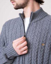 Sweter Fynch-Hatton 1219423_1922 szary- fot-1