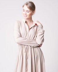 Sukienka Na-Kd 1018-004479_BEIGE beżowy- fot-0