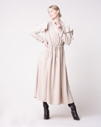 Sukienka Na-Kd 1018-004479_BEIGE beżowy- fot-3