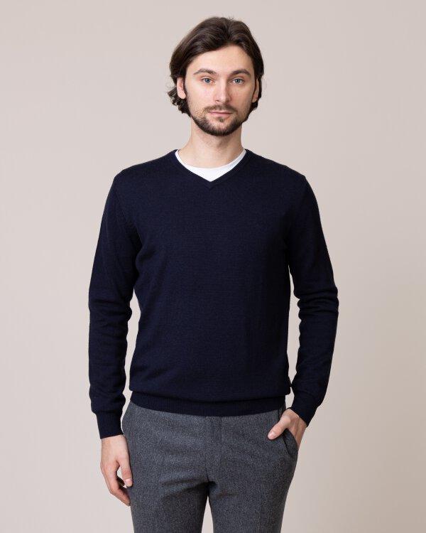 Sweter Fynch-Hatton 1219851_645 granatowy