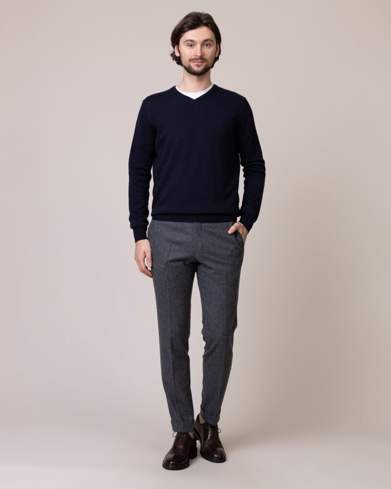 Sweter Fynch-Hatton 1219851_645 granatowy - fot:5