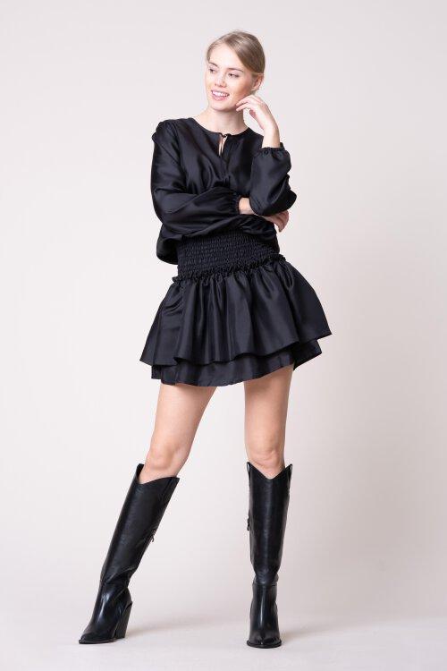 Sukienka Fraternity JZ19_W-DRE-0439_BLACK czarny