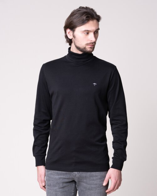 T-Shirt Fynch-Hatton 12191703_999 Czarny Fynch-Hatton 12191703_999 czarny
