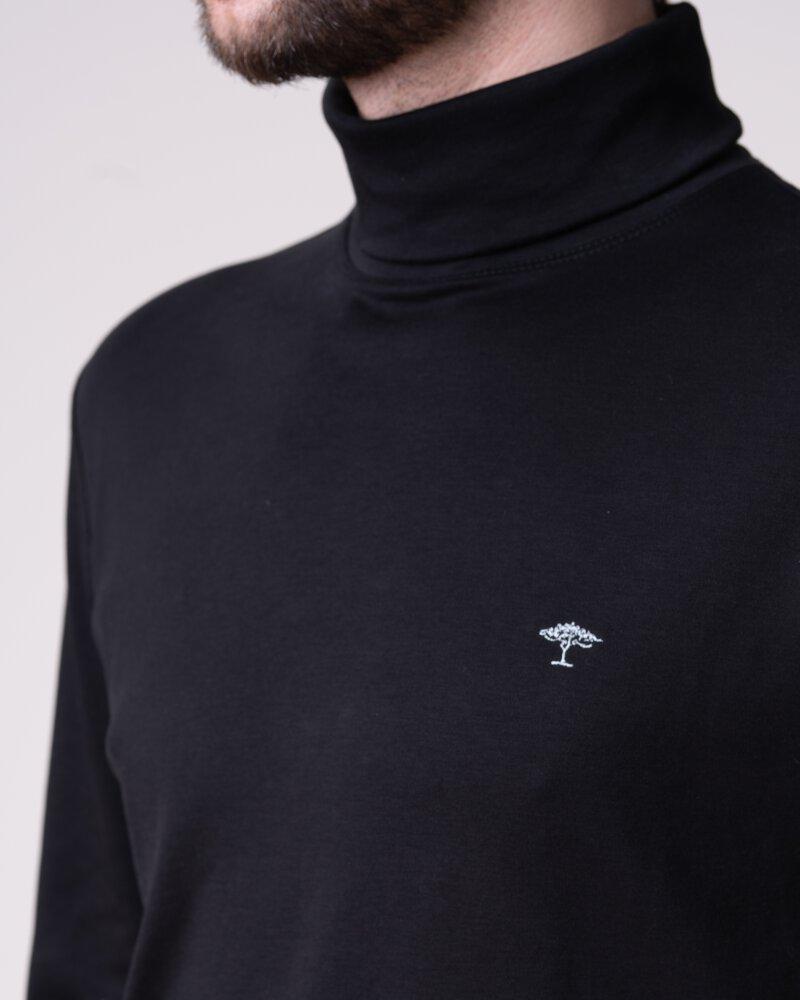 T-Shirt Fynch-Hatton 12191703_999 Czarny Fynch-Hatton 12191703_999 czarny - fot:4