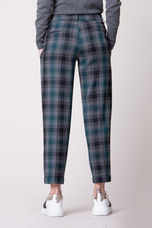 Spodnie Fraternity JZ19_W-TRO-0087_GREEN CHECK zielony