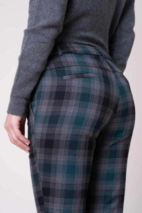 Spodnie Fraternity JZ19_W-TRO-0054_GREEN CHECK zielony