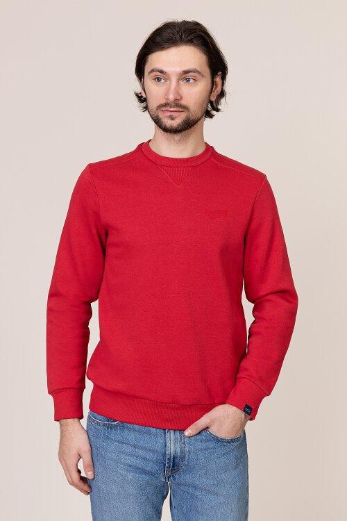 T-Shirt Gas 98284_SVEN/S YOKE A_1385 czerwony
