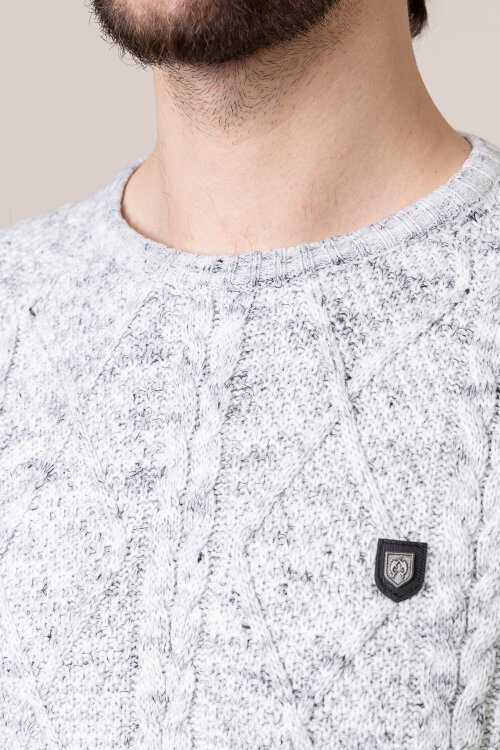 Sweter Campione 2097610_111010_10901 szary