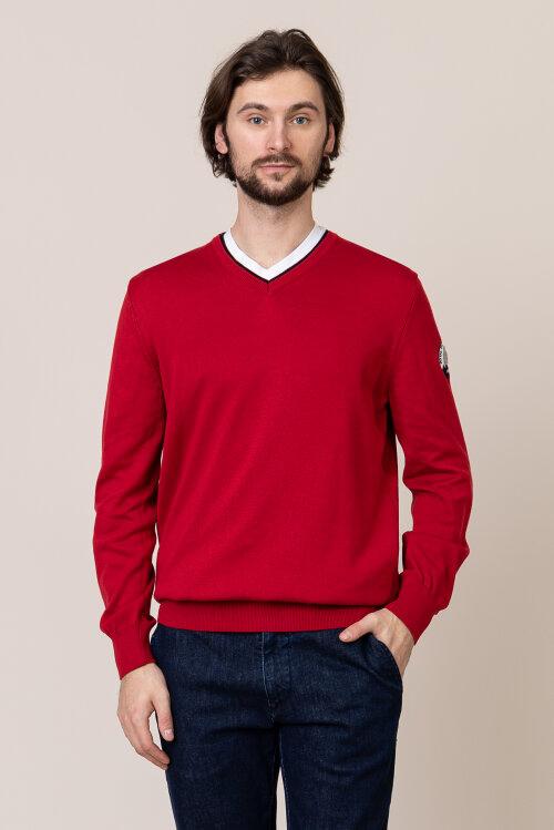 Sweter Campione 4097047_111010_60100 czerwony