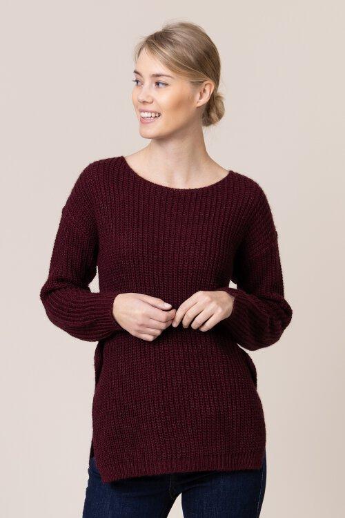 Sweter Campione 2332510_121010_63600 bordowy