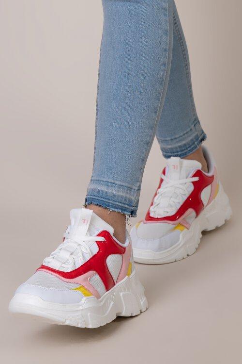 Buty Trussardi Jeans 79A00535_9Y099997_R681 biały