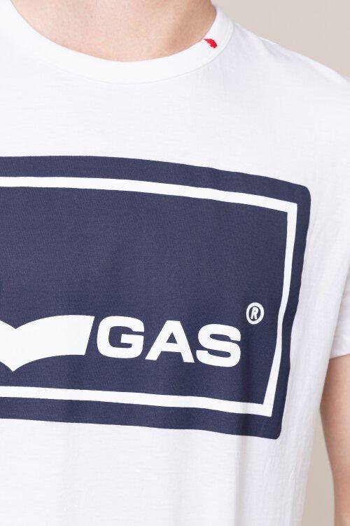 T-Shirt Gas 98603_JERSEY 24/1 W._0001 biały
