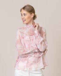 Bluzka Na-Kd 1018-004055_PINK PRINT różowy- fot-0