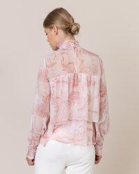 Bluzka Na-Kd 1018-004055_PINK PRINT różowy- fot-2