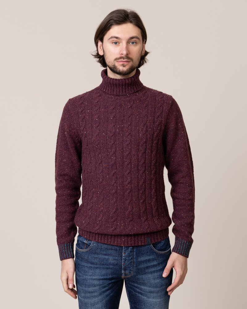 Sweter Colours & Sons 9219-141_349 bordowy - fot:1