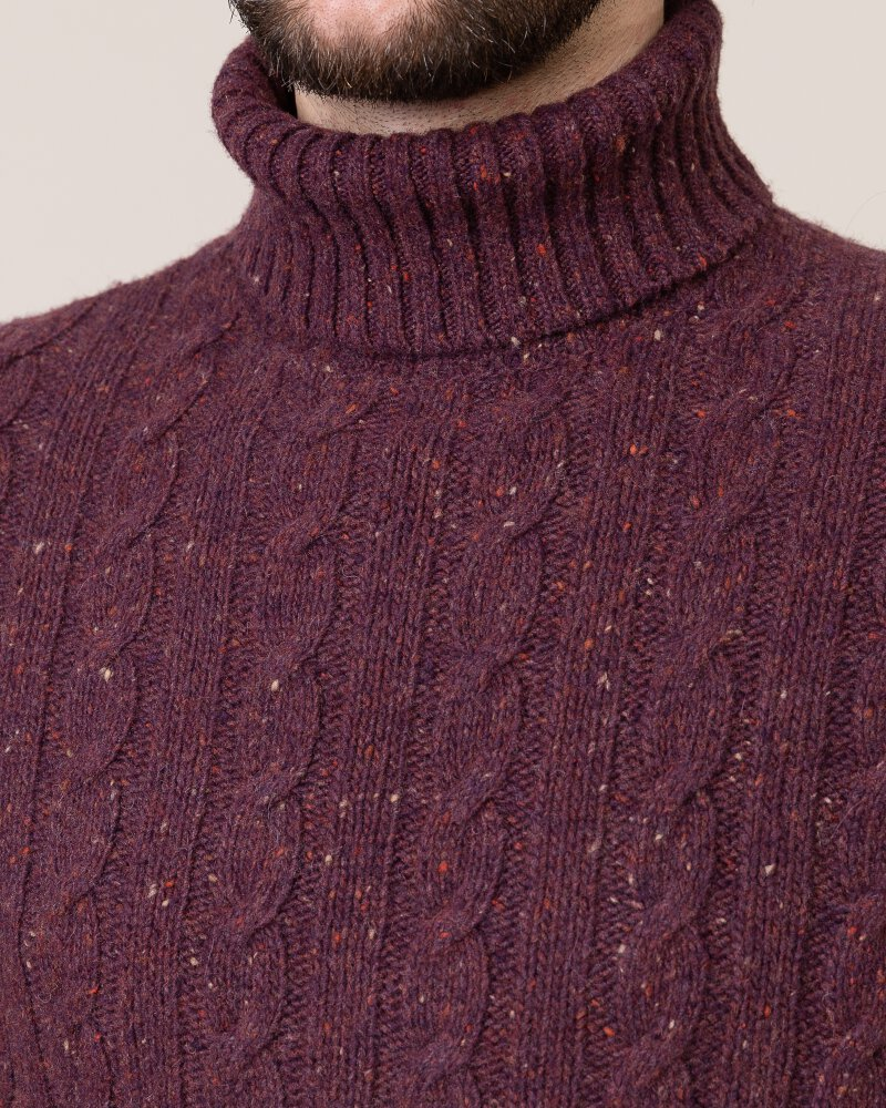 Sweter Colours & Sons 9219-141_349 bordowy - fot:2