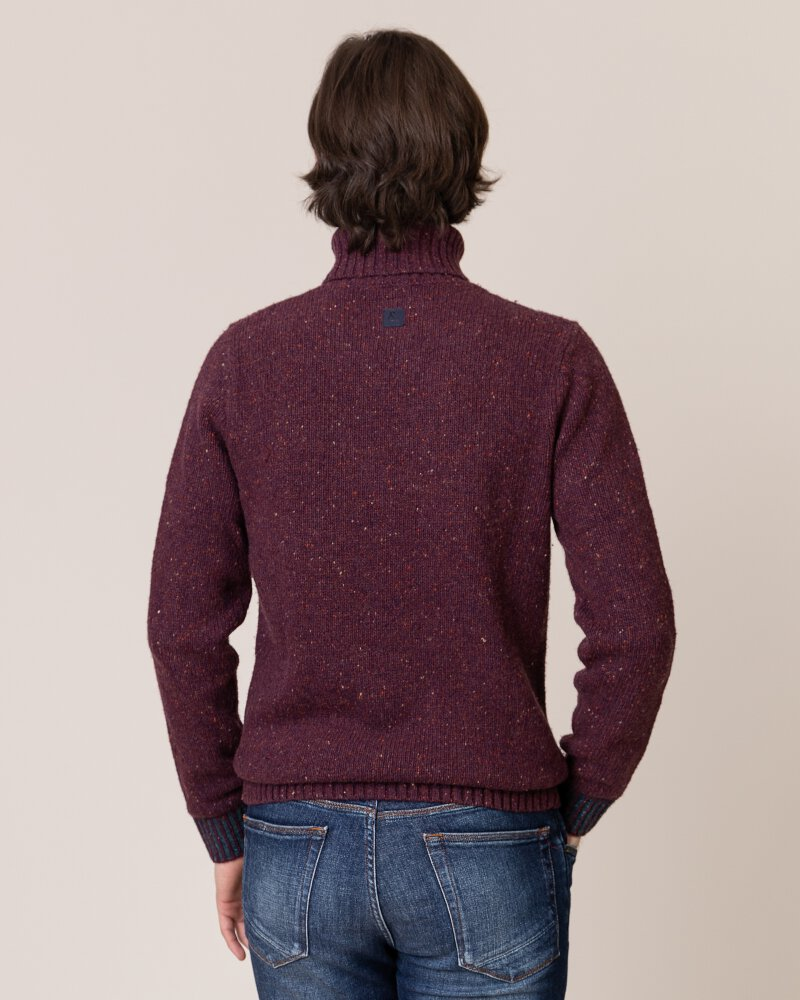 Sweter Colours & Sons 9219-141_349 bordowy - fot:3