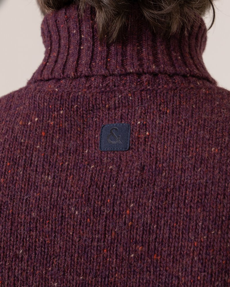 Sweter Colours & Sons 9219-141_349 bordowy - fot:5