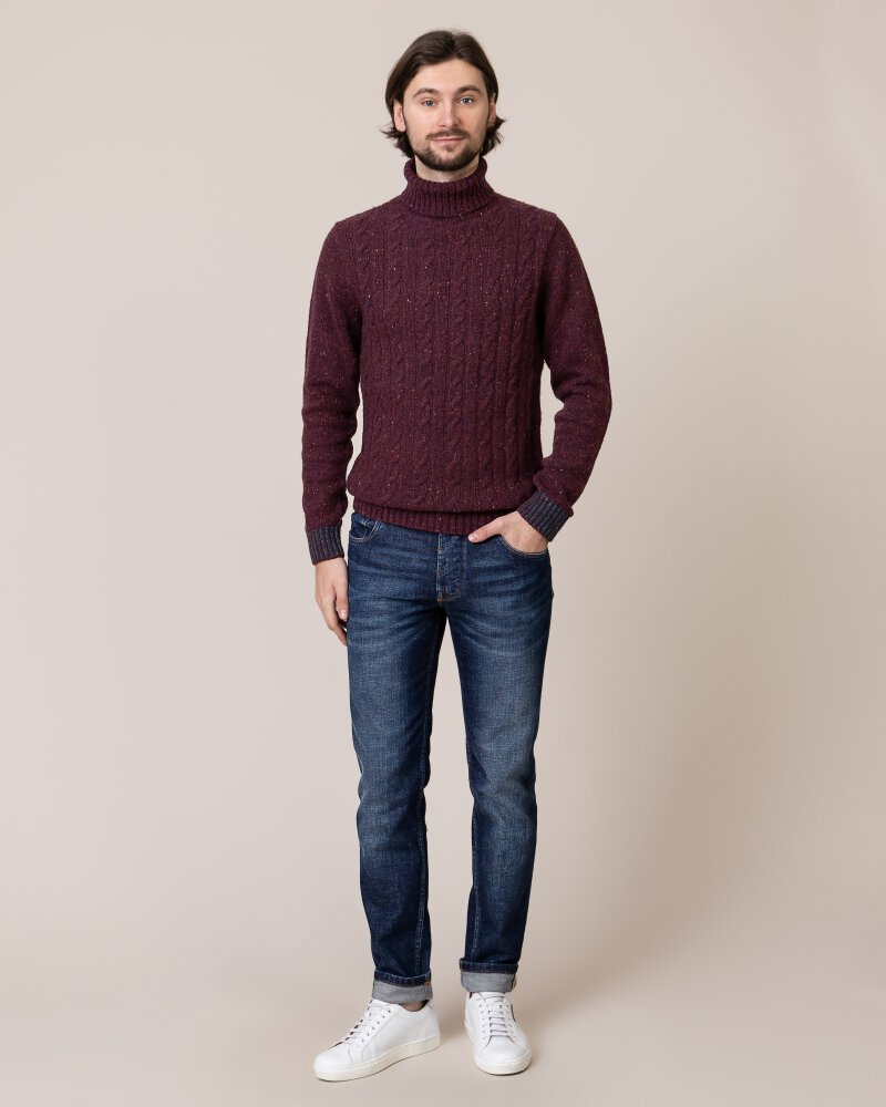 Sweter Colours & Sons 9219-141_349 bordowy - fot:6