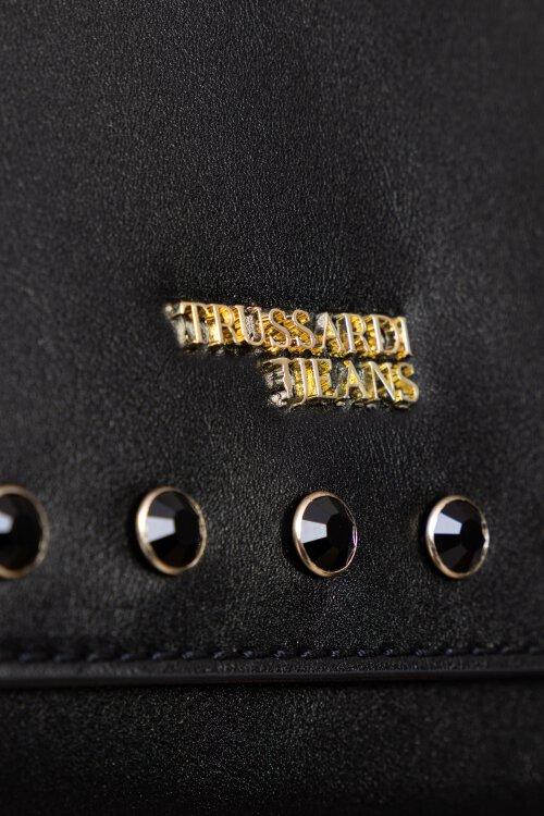 Torba Trussardi Jeans 75B00669_9Y099997_K299 czarny