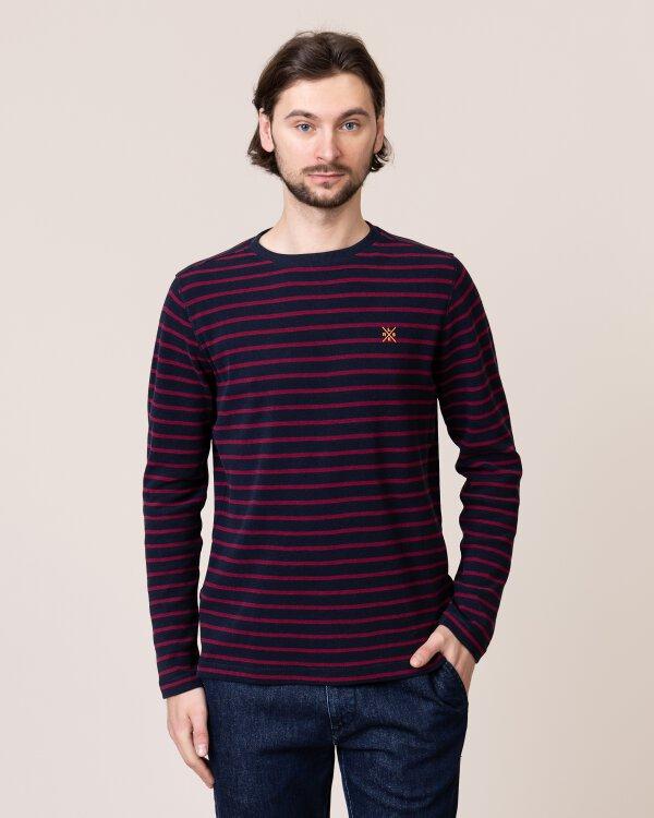 T-Shirt Lerros 2994048_485 bordowy