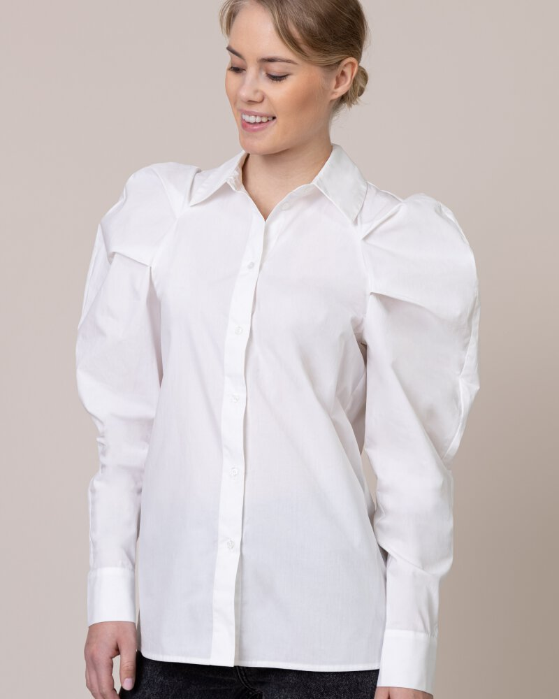 Koszula Na-Kd 1594-000295_WHITE biały - fot:1