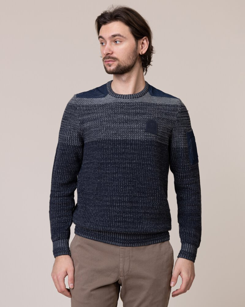 Sweter Lerros 2995029_486 szary - fot:1
