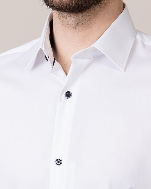 Koszula Seven Seas FINE TWILL W/REED_001 biały