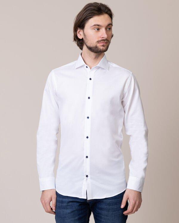 Koszula Seven Seas FINE TWILL W/WHEELS_001 biały